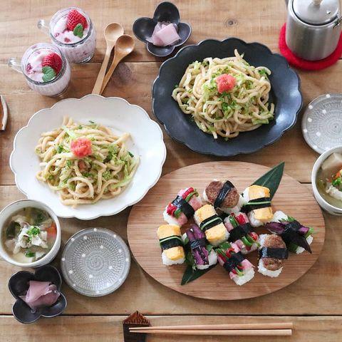 人気ご飯メニュー④喜ぶ握り寿司風おにぎり