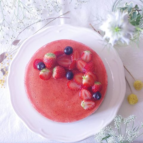 おすすめ夏の洋菓子!ベリーベリームースケーキ
