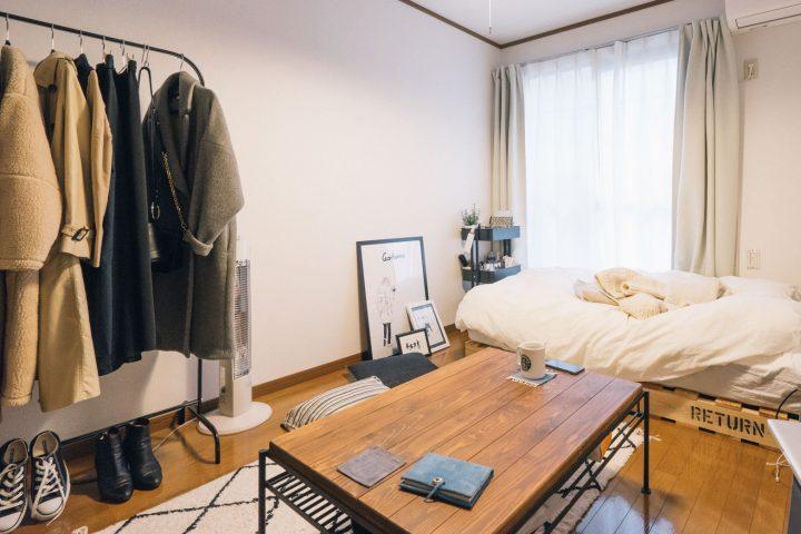 ベッドを「横」に配置するレイアウト例