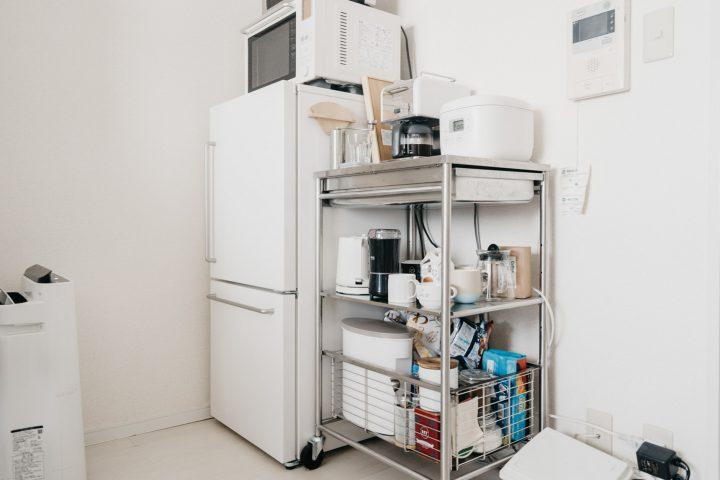 キッチンにおすすめ!IKEAの収納ワゴン