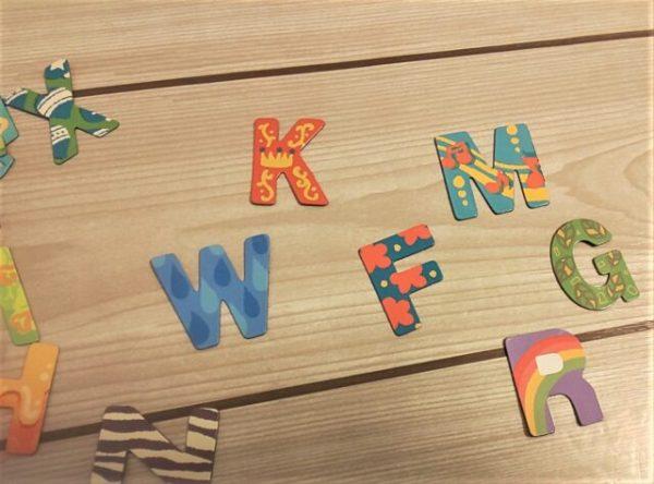 文字や数字のお勉強もカワイイ柄の「フレークマグネット」で、やる気がアップ↑2