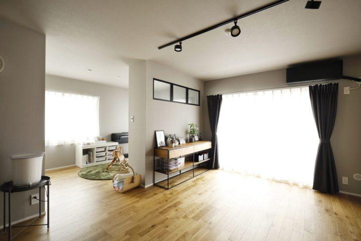 おしゃれな家事室のあるリノベーション実例12