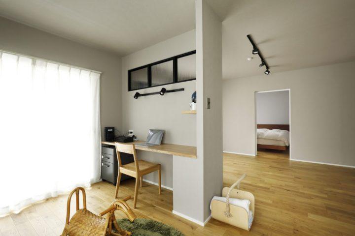 おしゃれな家事室のあるリノベーション実例10