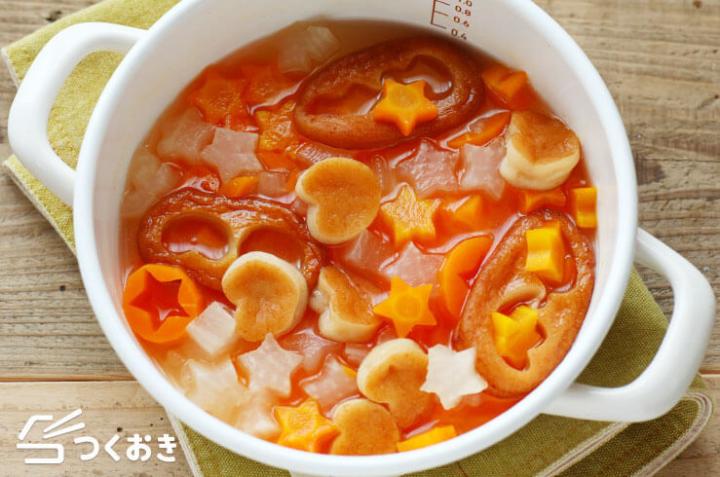 子供が喜ぶ♡きらきら野菜のだし煮レシピ