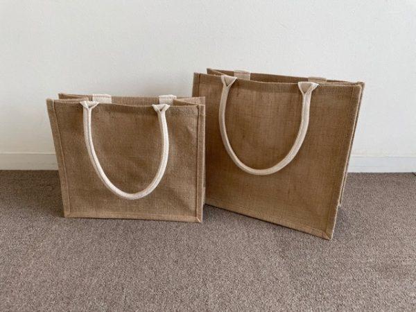 無印良品のジュートマイバッグを収納として使う
