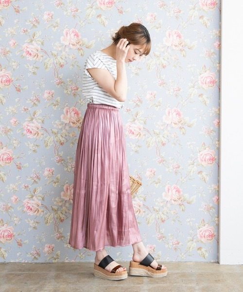 [welleg from outletshoes] 厚底ウェッジストラップサンダル