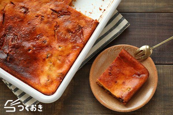 冷蔵で日持ち!キャラメルチーズケーキレシピ