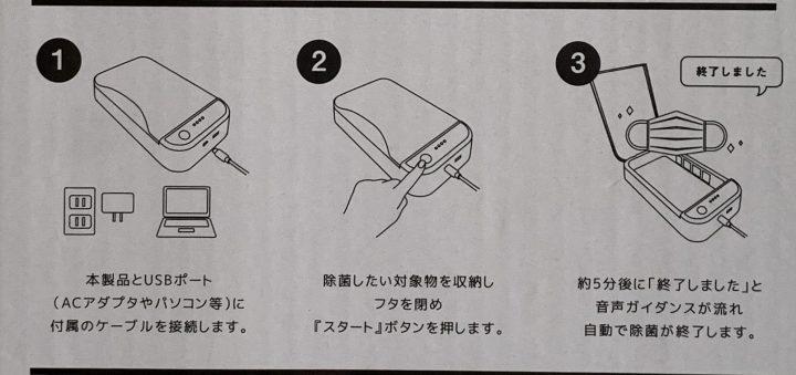 UVC除菌ボックス2