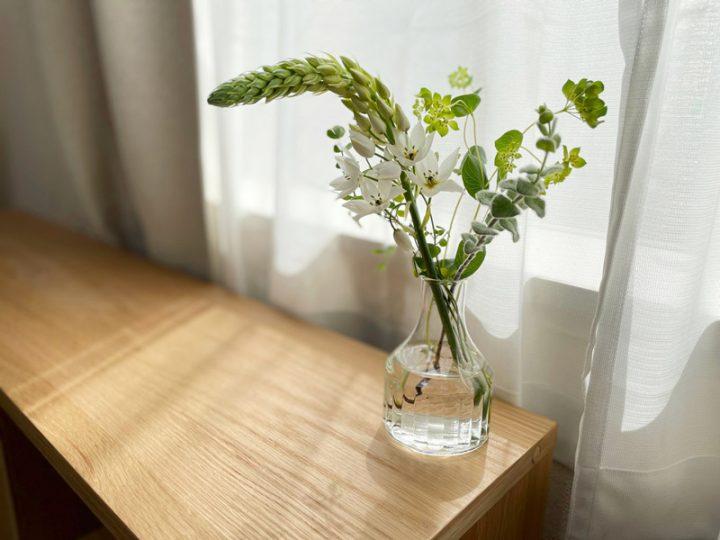 せっかくのお花を、最後まで楽しもう