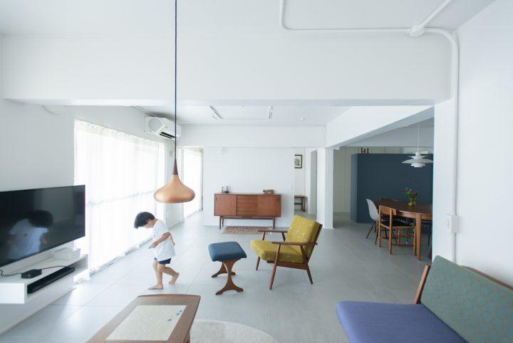 北欧テイストのリノベーションでは家具にこだわって