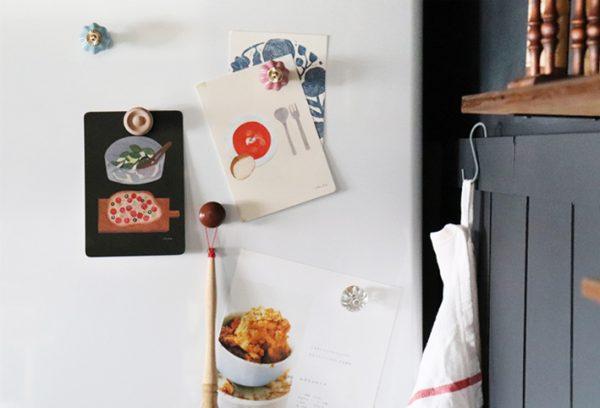 冷蔵庫に貼るおしゃれなマグネット