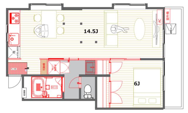 ベッドルームのサイズに合わせてベッドを選びましょう2
