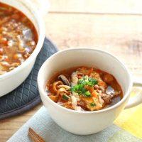 《献立の救世主》唐揚げに合うスープ15選。簡単に作れて栄養も摂れるレシピを紹介
