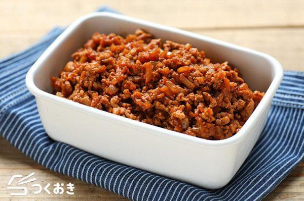 簡単アレンジレシピ!中華風肉みそそぼろ