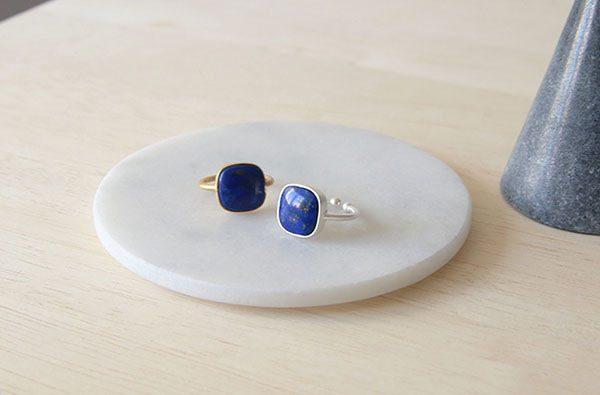 ラピスラズリ Stone Ring