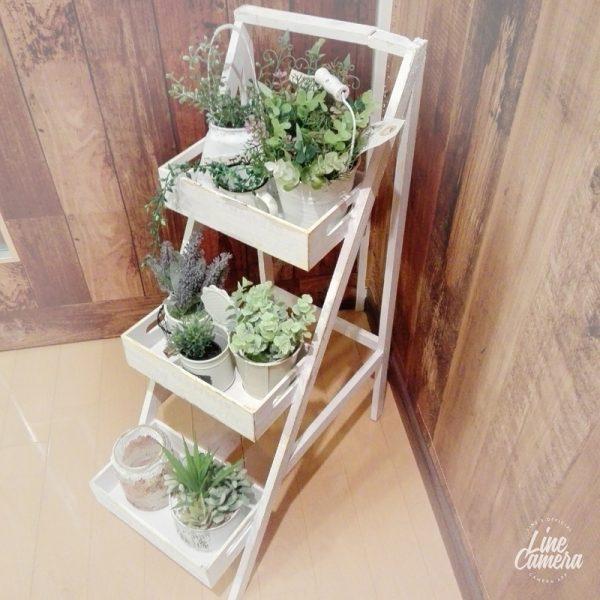初心者が気軽に作れるレシピの雑貨屋風飾り棚