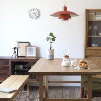 無垢家具と、永く暮らすために