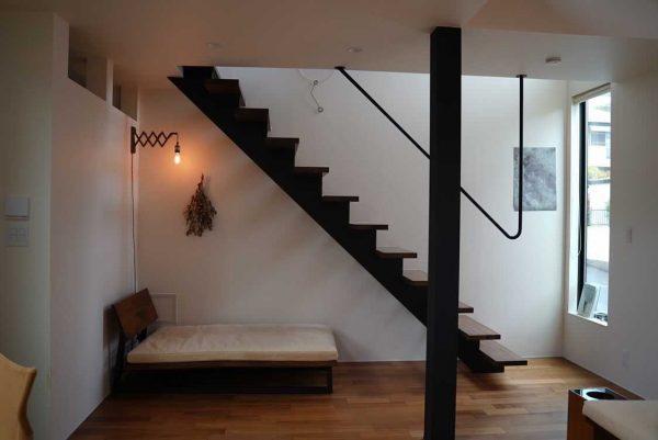 階段下のリラックス空間