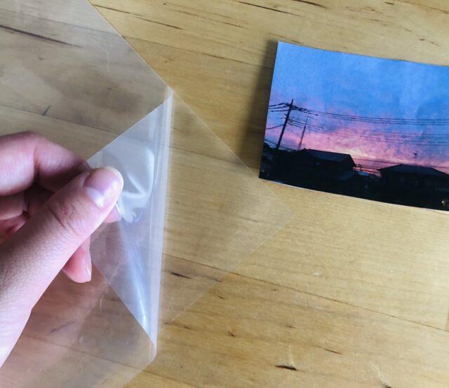 ラミネートでフィルム風透明写真5