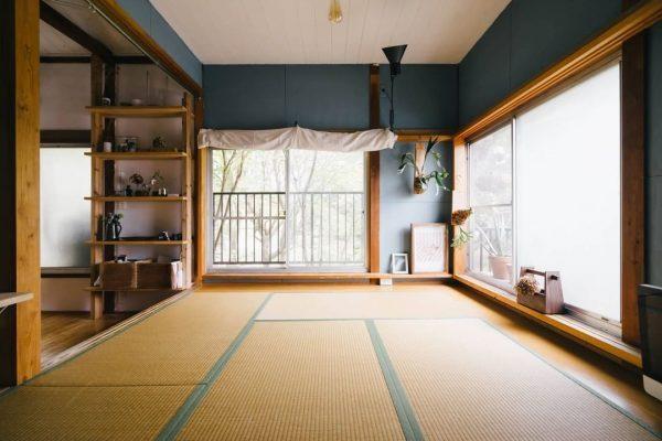 和室×インダストリアルな一人暮らし部屋