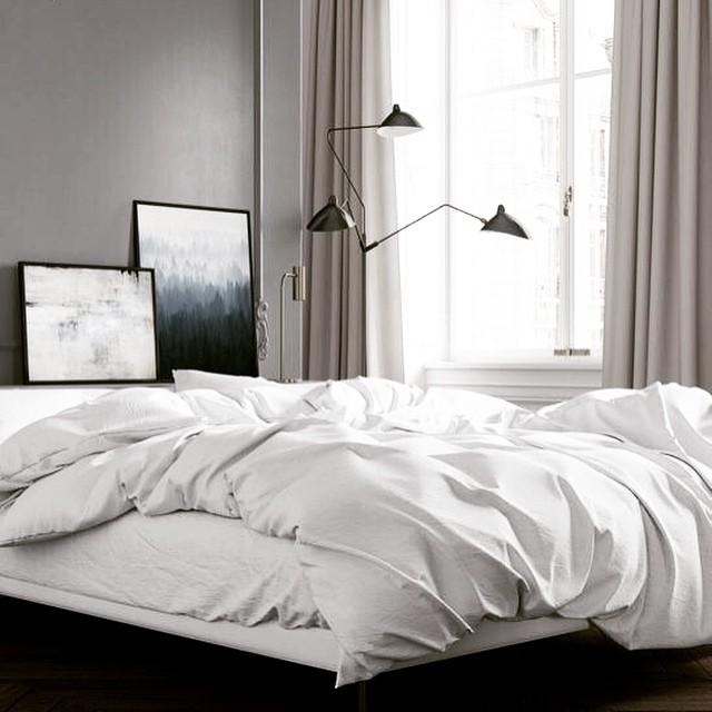 人気のおしゃれな照明と寝室レイアウト