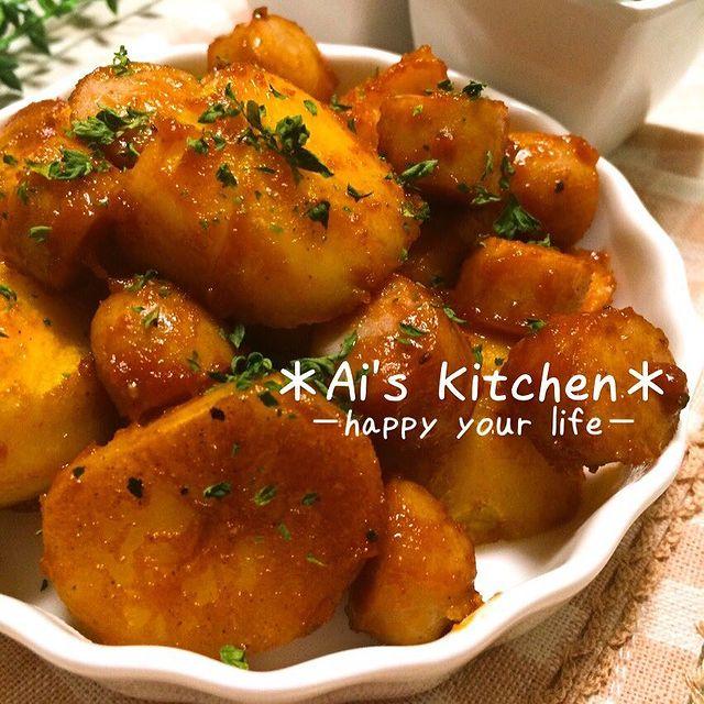 簡単!ポテトとソーセージのカレー炒めレシピ
