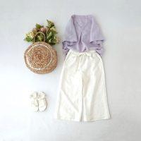 リネン生地の魅力、特徴って?リネンの魅力あふれる夏のファッションアイテム