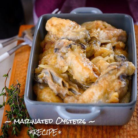 おしゃれレシピ!牡蠣のマリネ