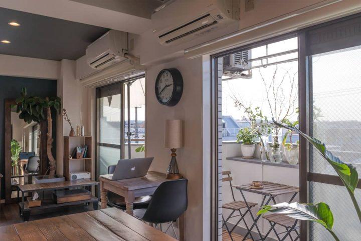 リノベーションマンションの1室を住みこなす3