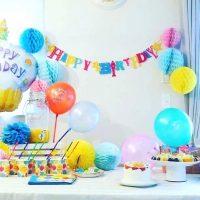 女の子の誕生日の飾り付けアイデア。おしゃれなデコレーションで特別感を出そう
