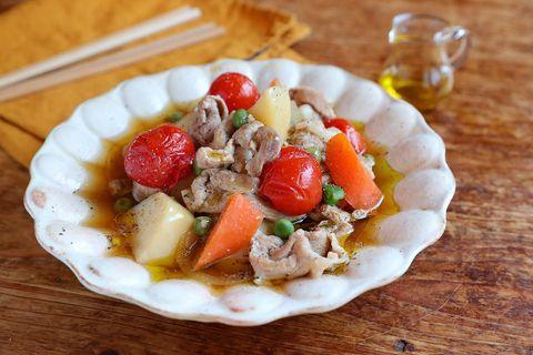 洋風の人気レシピ!オリーブオイル香る肉じゃが