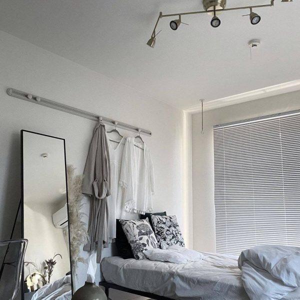ベッドの正面に置かない寝室の風水術