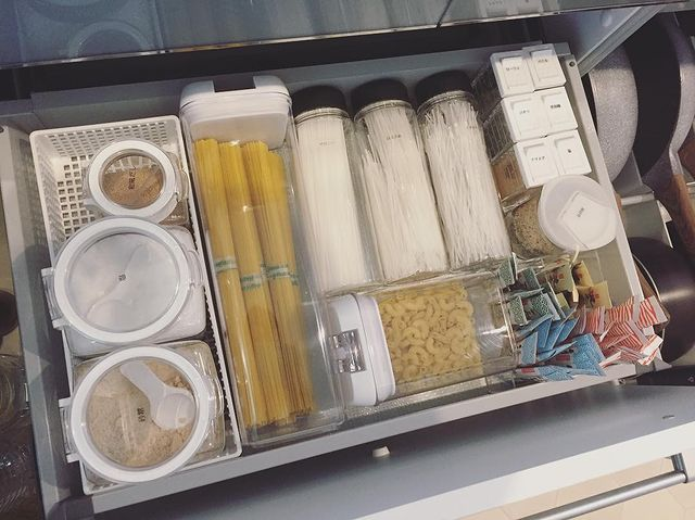 乾物食材の整理収納