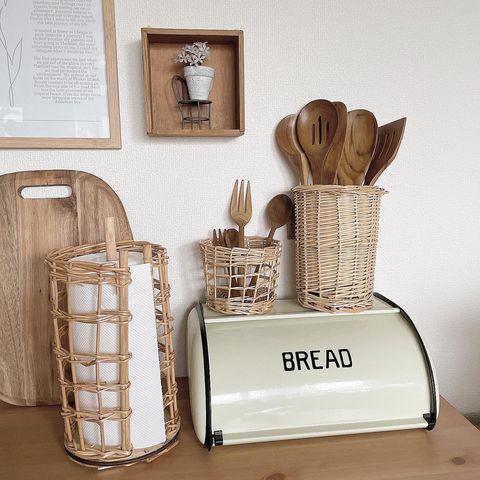 韓国風に合う木製雑貨:キッチンツール