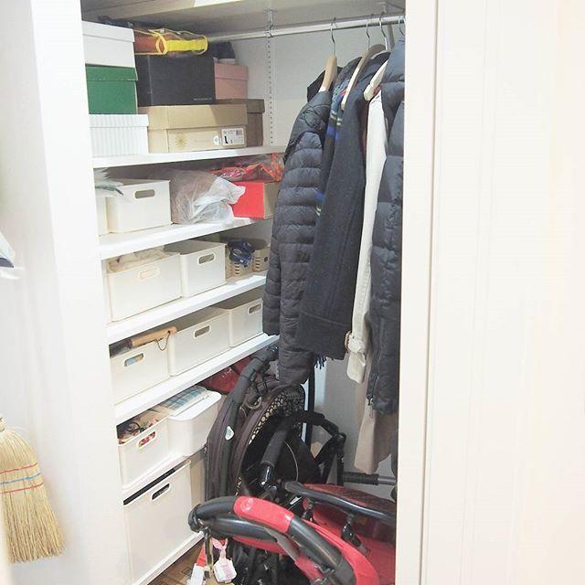 ニトリの整理ボックスの玄関収納
