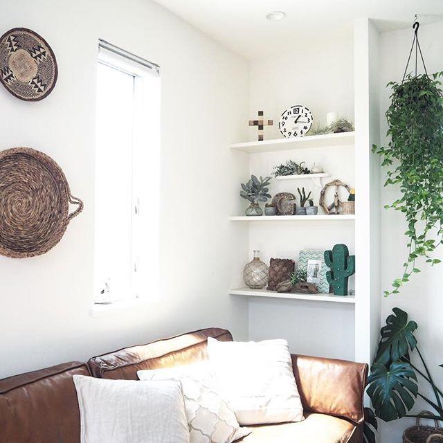 ボヘミアンテイストなモロッコスタイルのお部屋
