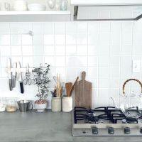 可愛いキッチンのインテリア実例。ナチュラル・カフェ風が素敵なみんなのお家を拝見
