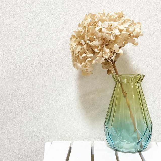 ダイソーのグラデーション花瓶