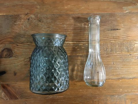 ダイソーのガラス花瓶