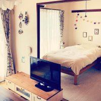 レトロな部屋にしっくり似合う、フランス風アンティーク。2DKの一人暮らしインテリア