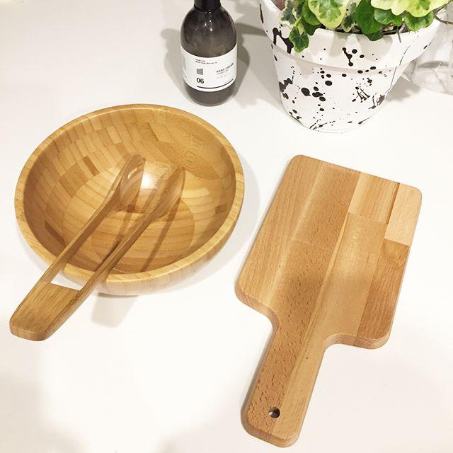 IKEAで買うべきグッズ⑩木製食器
