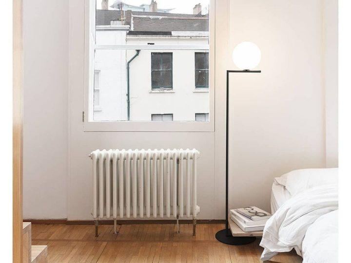 モダンスタイルのシンプルな寝室レイアウト