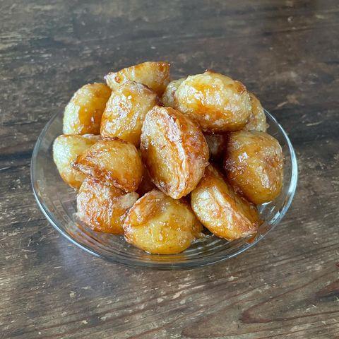 蜂蜜バター醤油ポテト