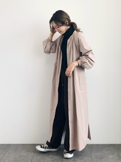 [AMERICAN HOLIC] ロングシャツワンピース【AMERICAN HOLIC by 陽】