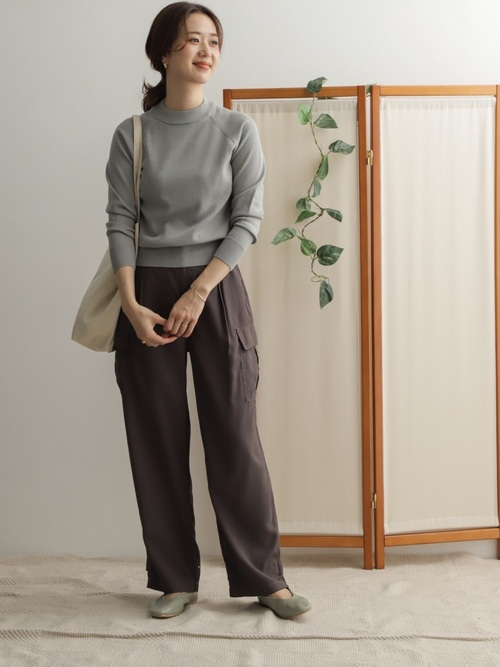 [URBAN RESEARCH DOORS] 裾タブ付カーゴパンツ