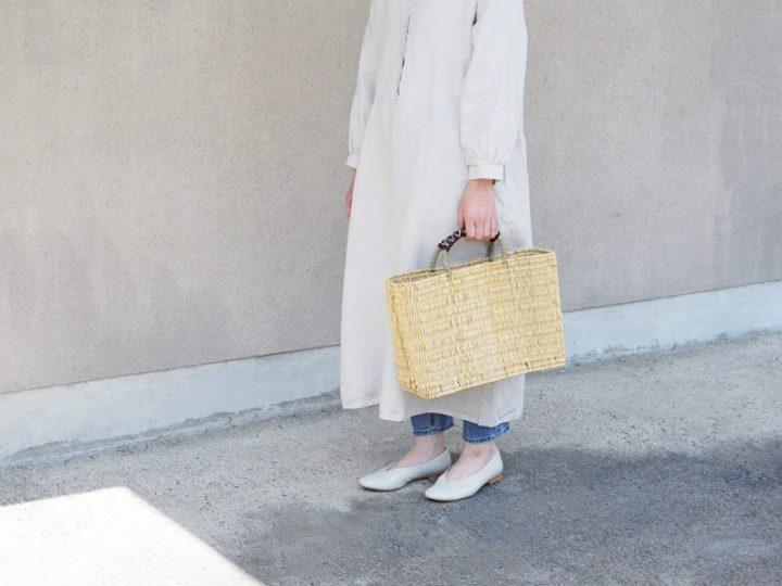 暮らしの日用品、松野屋のかごバッグ2