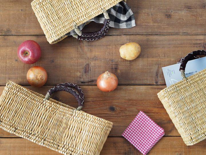 暮らしの日用品、松野屋のかごバッグ3