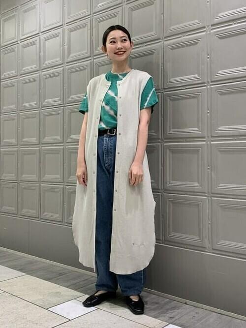 [BEAMS WOMEN] Available Today × Ray BEAMS / 別注 タイダイ Tシャツ