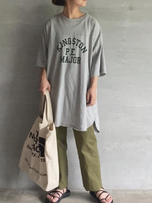 [FREAK'S STORE] ▽【WEB限定】PENNEYS/ペニーズ 別注ピグメントフットボールTシャツ (ロゴTシャツ/ヴィンテージ加工)