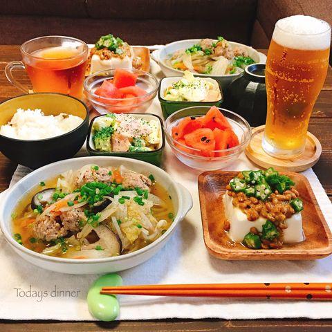 栄養◎たっぷり野菜と肉団子のスープ煮レシピ